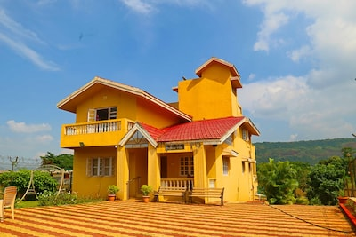 Private Farm Villa with large Open area- 6BHK