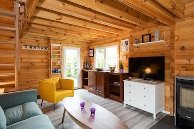 Modernes Haus mit Sauna und Kamin bei Hannover