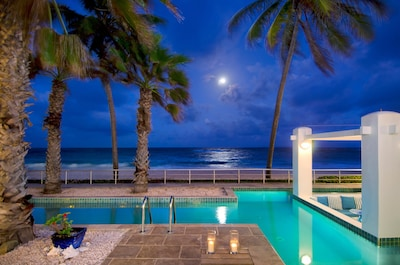 Full Moon at Villa Corinne.   Enjoy          stargazing and reflect on your day