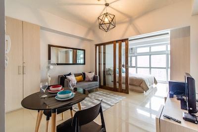 36 Sqm Studio Converted To Cozy 1 B R Greenbelt San Lorenzo