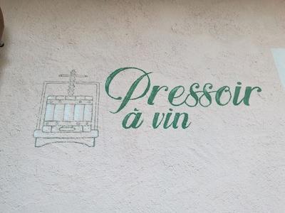"""Ruhiges Ferienhaus """"Pressoir à vin"""" im Herzen des Aostatals"""