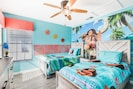 Tastefully Themed Bedrooms! Moana Bedroom - 2x Twin Beds