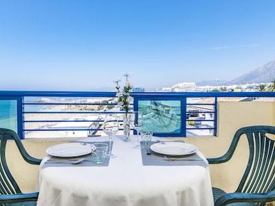 Playa del Cable, Marbella, Andalusia, Spain