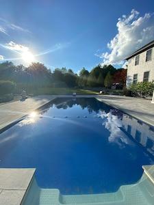 Beautiful heated in-ground pool