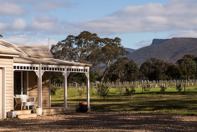 Lallibroch is a beautifully appointed modern country home  in the Grampians.
