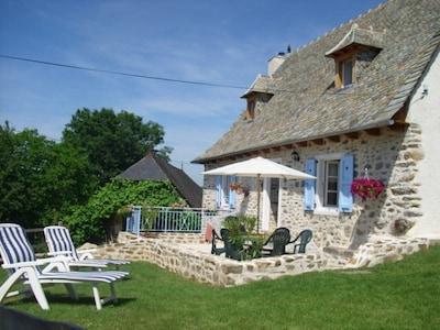 Cantoin, Aveyron, Frankreich