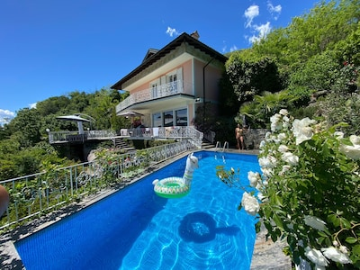 Novaglio, Oggebbio, Piedmont, Italien