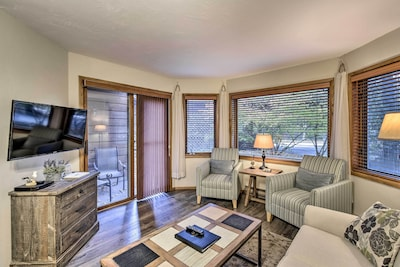 Perfect for couples or small families, this cozy condo offers plenty to do!