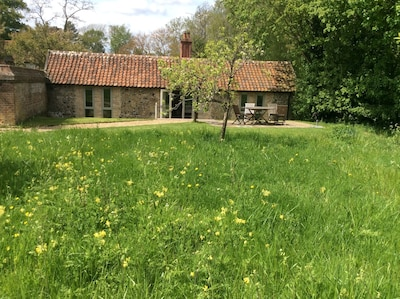 Rural retreat in the grounds of West Stow Hall