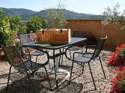 Minore: Luxus 1. 5 Schlafzimmer Apartment, gemeinsamer Pool, Klimaanlage und 7kw EV Ladegerät