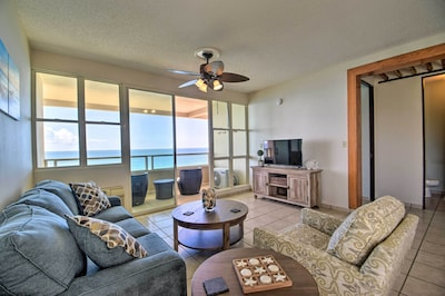 Make sure to enjoy the breezy living spaces of this 2-bedroom, 2-bath condo!
