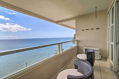 Sip on your morning coffee each day with these views at this vacation rental!
