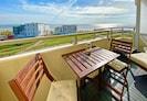 Meerblick Norderney Weststrand - Blick vom Balkon
