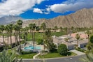 Bask in the sun at the pools while enjoying the towering Santa Rosa Mountains!