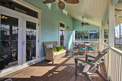 This home has plenty of outdoor space to relax with your loved ones.
