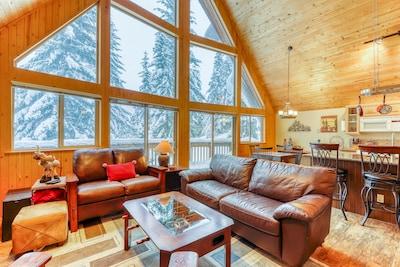 Dodge Ridge Ski Lift, North Bend, Washington, United States of America