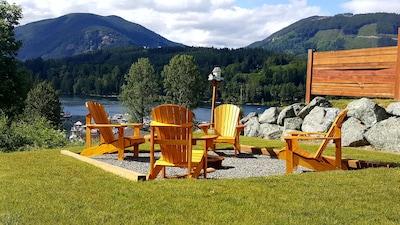 Central Park, Lake Cowichan, British Columbia, Canada