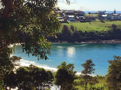 Peaceful Easts Beach - a safe place to swim