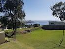 View across backyard