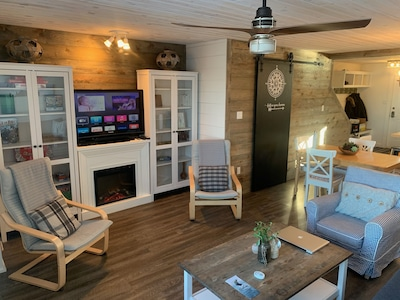 The Boreal Abode - a stylish condominium at Riding Mountain National Park