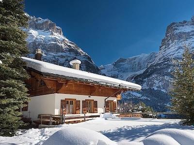 Grindelwald Station, Grindelwald, Canton of Bern, Switzerland
