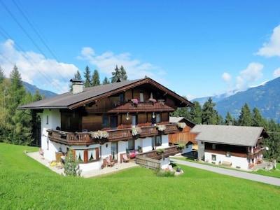 Hochzillertal II-skilift, Kaltenbach, Tirol, Oostenrijk
