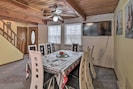 Dining Table | Cable TV