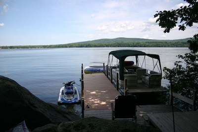 30 foot boat dock which you can dock your own boat