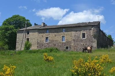 Barre-des-Cévennes, Lozère, France
