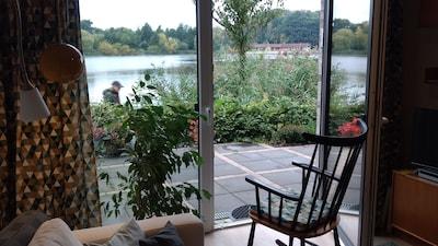 Schöne Wohnung direkt am See, barrierefrei