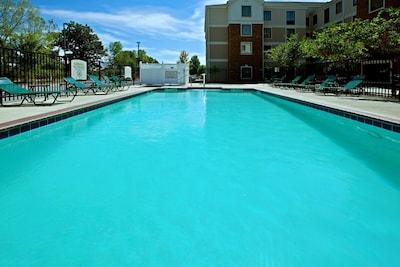 Take a dip in the beautiful pool!