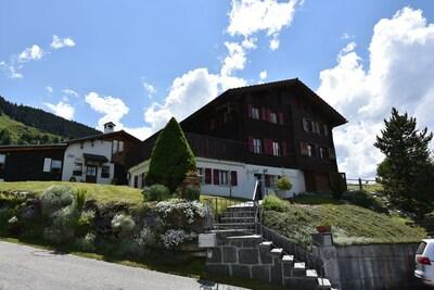 Obersaxen, Graubuenden, Switzerland