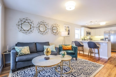 The open floor plan is perfect for hanging out with your friends and family.