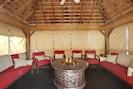 Interior of Pool Pavillion