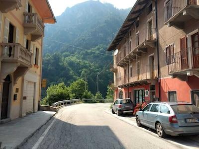 Bassura, Stroppo, Piémont, Italie