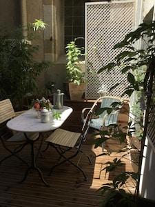 La terrasse ...