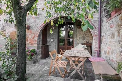 Farneta Abbey, Cortona, Tuscany, Italy
