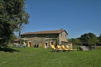 Montbron, Charente, Frankreich