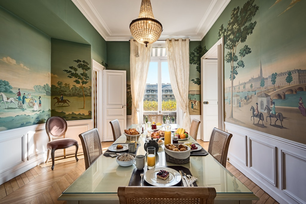 Glorious condo with murals perfect for a first time visitor Paris in 4 days itinerary