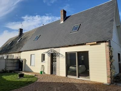 Ermenonville-la-Grande, Eure-et-Loir Département, Frankreich