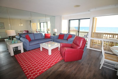 Welcome to our beachfront getaway!