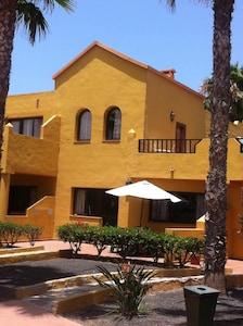 Ist floor apartment showing veranda