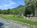 Natural Landscape, Vegetation, Tree, Natural Environment, Wilderness, River, Mountain, Watercourse, Bank, Stone Wall