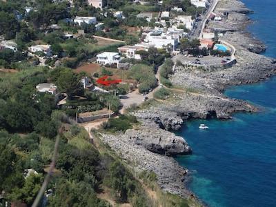 Salento - Monolocale in villa sul mare