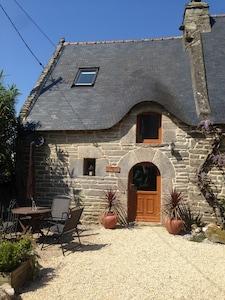 Village de Poul-Fetan, Quistinic, Morbihan, France