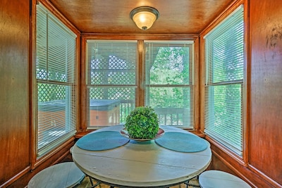 Located in Marietta, this vacation rental is filled with Southern charm.