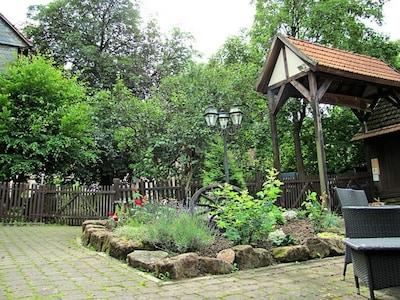 Der grüne Innenhof