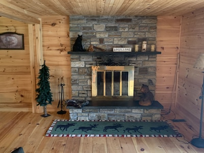 Fireplace (for decoration only)
