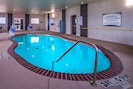 Go for a quick swim in the indoor pool.