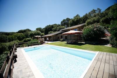 Splendida villa con piscina e vista mare a Punta Ala, Grosseto, Toscana
